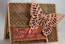 Butterflies on Cards / by Sherry Dobreski