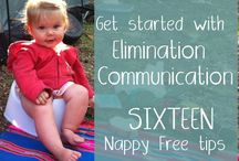 Elimination Communication #atlantabirrh #newborncare #diapering #babywearing / Learn to read baby's cues to go diaper free! #diaperfree #clothdiapers #postpartum #pottytraining