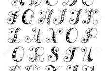 Lettered Fonts