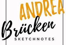 Andrea sketcht: Blogposts / Blogartikel zum Thema Sketchnotes und Visualisierung auf andrea-bruecken.de