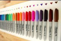 Striking Stationery {pencils & supplies}