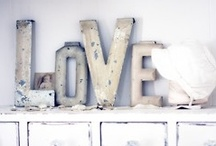 Letters/typography as decoration