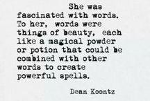 Words / by Gabri Patti