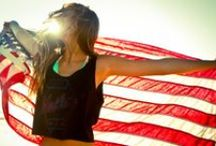 land of the free because of the brave / by Aileen