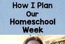 Homeschool Organizing and Planning / All things related to organizing and planning the homeschool life / by Lauren Hill
