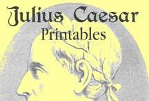 Homeschool Julius Caesar Unit Study / A round-up of ideas to create a Julius Caesar unit study - links to book suggestions, worksheets & printables, and more / by Lauren Hill