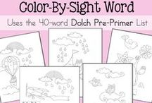 Sight Word Practice / All types of ways to practice sight words!  Hands-on ideas, activities, crafts, and worksheets/printables / by Lauren Hill