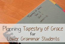 Homeschool Tapestry of Grace Resources / Tools, organization tips, and ideas for teaching Tapestry of Grace / by Lauren Hill