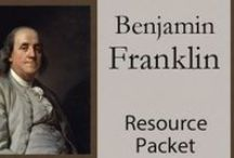 Benjamin Franklin Unit Study Resources / The perfect Pinterest Board for finding resources for studying Benjamin Franklin: book suggestions, links to video, hands-on resources, worksheets & printables, and more / by Lauren Hill