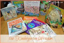 My Father's World Kindergarten / Supplements and ideas to implement with My Father's World Kindergarten.