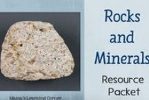 Rocks and Minerals Unit Study / Links to video, books, hands-on ideas, and more for a Rocks and Minerals Unit Study for 1st-3rd grades / by Lauren Hill