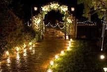 Wedding Inspiration / Candles have held a special place among wedding ceremonies, both as a part of some services and decorating the reception afterwards. Here are some beautiful, unique ways to incorporate candles into your wedding day.