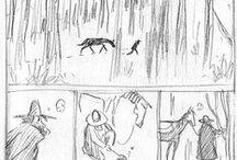 s t o r y b o a r d / color script   storyboard / by Hwa