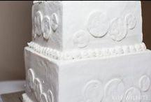 Wedding Cakes / Wedding cakes photographed by Kim Wilhite Photography www.kimwilhite.com