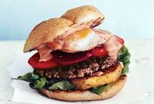 Great Grilled Burger Recipes / Great grilled hamburgers we have found.