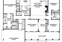 Home: Floorplans / by Gracie Wallace