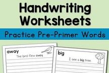 Copywork and Handwriting Practice / Find handwriting practice and copywork printables for Kindergarten through 4th grade! Scripture, patriotic, famous speeches, themed topics (seasons, biomes, transportation, etc), and more! / by Lauren Hill
