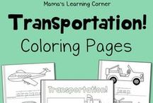 Coloring Pages for Kids / Find a ton of coloring pages for kids! You'll find printable coloring pages on a variety of topics: holidays, themes, mini-coloring books, and more! / by Lauren Hill
