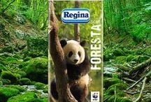 NATURALMENTE PRODOTTI / Fazzoletti Regina WWF Collection