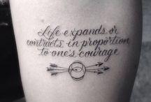 Tattoos / by Dawn Lange