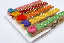 Crafty Clothes Pin Crafts / Fun things to do with clothes pins