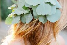 Flower Halo Inspiration / flower crowns, flower halo, wreath of flowers / by Adrienne Moore | The Bloom Of Time