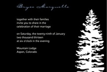 Winter Wedding Ideas / Winter-Themed Wedding Details pinned by our October 2012 Pin to Win Contest winners!  / by MagnetStreetWeddings