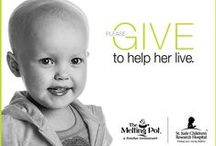 St. Jude Children's Research Hospital / #TheMeltingPot is proud supporter of @MyStJude Children's Research Hospital and the #ThanksandGiving campaign!