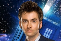 "The 10th Doctor / ""He's like fire and ice and rage. He's like the night and the storm in the heart of the sun. He's ancient and forever. He burns at the center of time and can see the turn of the universe...and... he's wonderful."""
