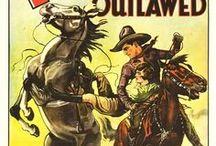 Carteles de películas antiguas del oeste