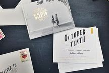 Invites & Thank You's / by Crystal Cusimano