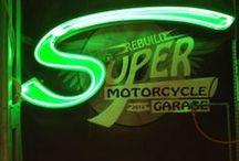 Super rebuild motorcycle garage 2012