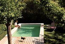 outdoor. / patios, backyards, pools