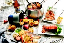Dip Into Summer! / #DipIntoSummer at #TheMeltingPot with a #Fondue #SeafoodBoil, #Shandies and More. Celebrate Summer with Unique Seasonally-Inspired Selections for Sipping and Dipping! Limited-time menu available May 12 - July 12.