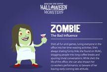 Office Halloween Monsters