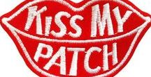 COLLECTION / Patches / Cool Modern Vintage embroidered patches