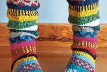 knitting--sox