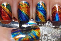 Nails, Nail, Nails ... So much nail polish so little time / by Rachel Turkal