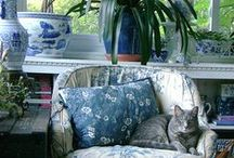 )0(Lounge)0( / Vintage-y and relaxed, cozy as all get out, with just a hint of rumpled bohemian flair.....ever evolving.  Lounge. / by darkly dreaming gardener