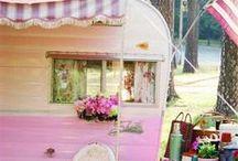 Vintage Campers / RV / by Amanda Waters