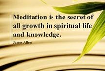 Meditation! / by Amanda Waters