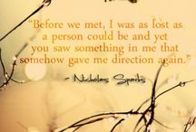 Nicholas Sparks quotes / by Amanda Waters