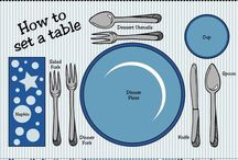 Table settings / by Mary Rimes