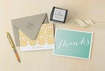 Personalized Stationery / Beautiful stationery personalized just for you & your one-of-a-kind style.  / by Expressionery