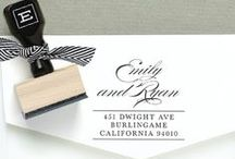 Wedding Stamps / Beautiful custom wedding stamps that are sure to make your special day even more lovely.  / by Expressionery