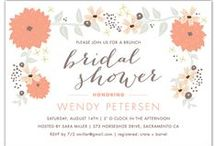 Bridal Shower / Beautiful bridal shower invitations that are sure to make your heart swoon.  / by Expressionery