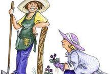 Gardening / by Betty  Burton Harrison