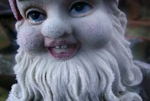 Gnomes / Kind of creepy, but lots of fun! / by Harriet Onions