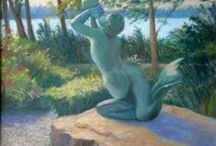 New England Coastal Paintings / Oil Paintings by Melody Phaneuf