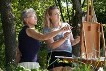 How To / Painting & Pastel Workshops at Fenway Studios, Boston, The Guild of Boston Artists & on site in Gloucester MA